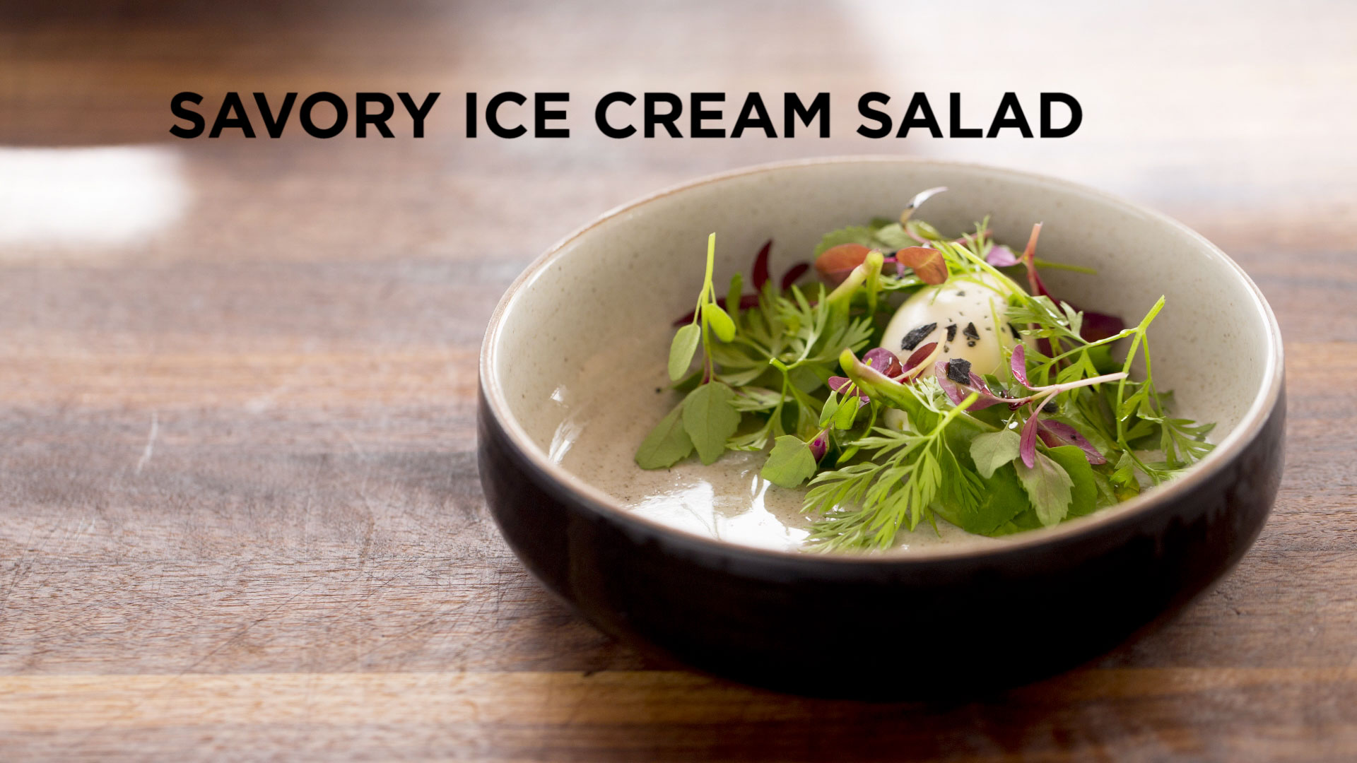 Savory Ice Cream Salad