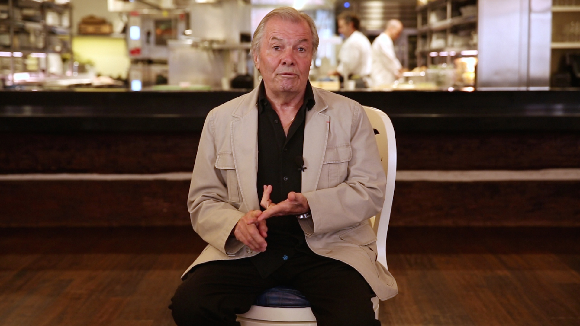 Jacques Pépin: Cooking for World Leaders