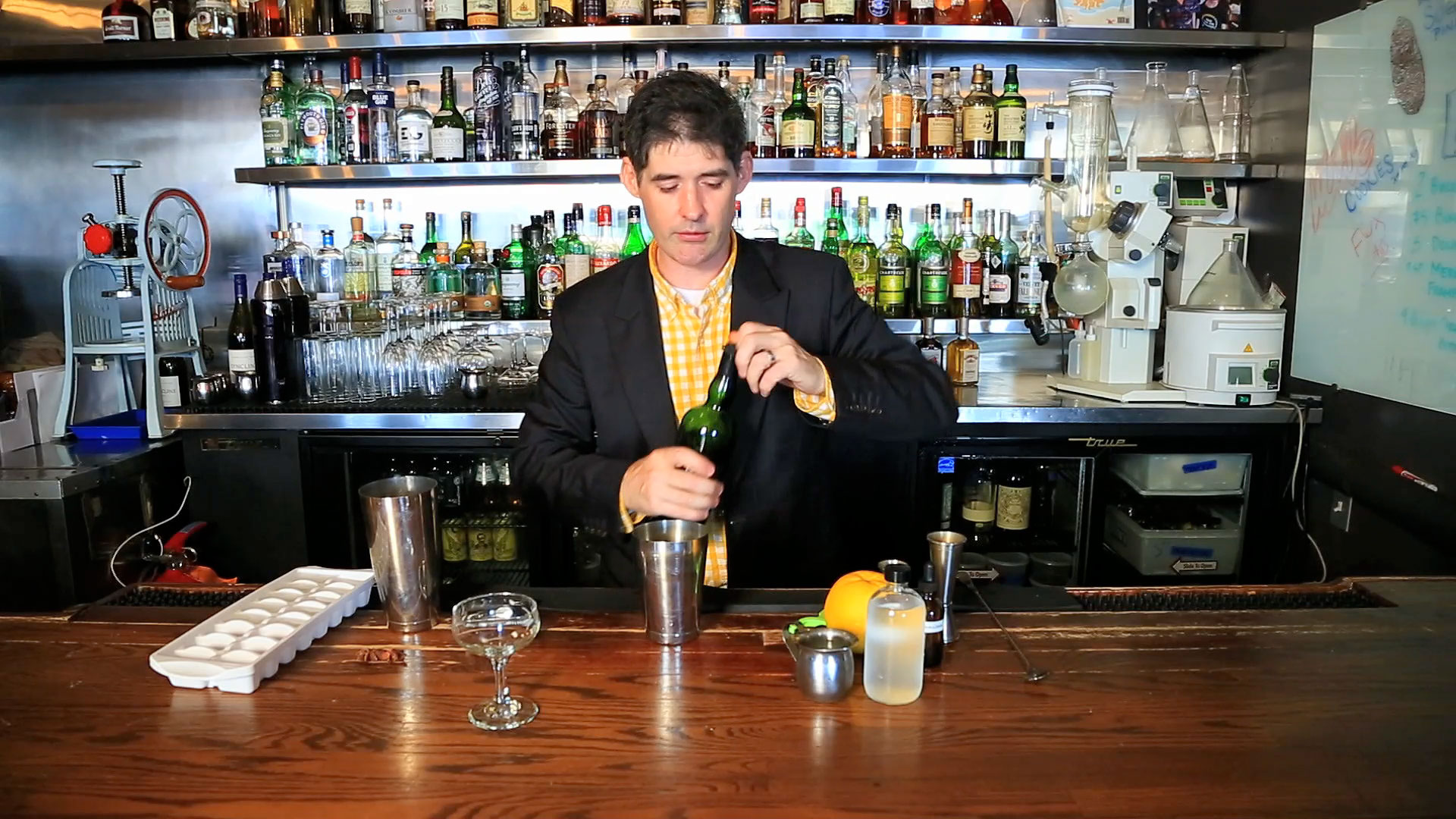 Dave Arnold: Scotch and Coconut Cocktail