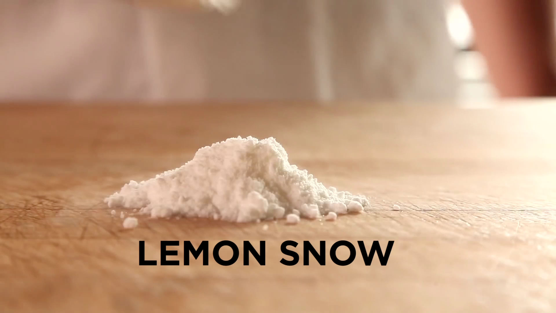 ChefSteps: Lemon Snow