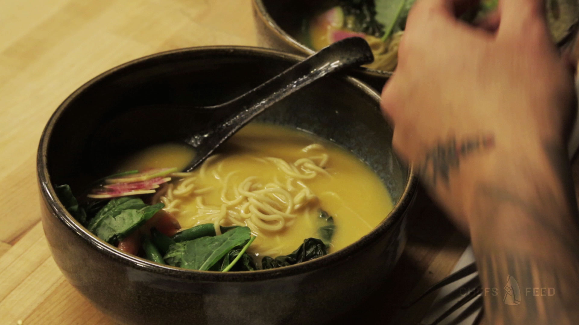 Chefs Feed: Opening night at Hapa Ramen