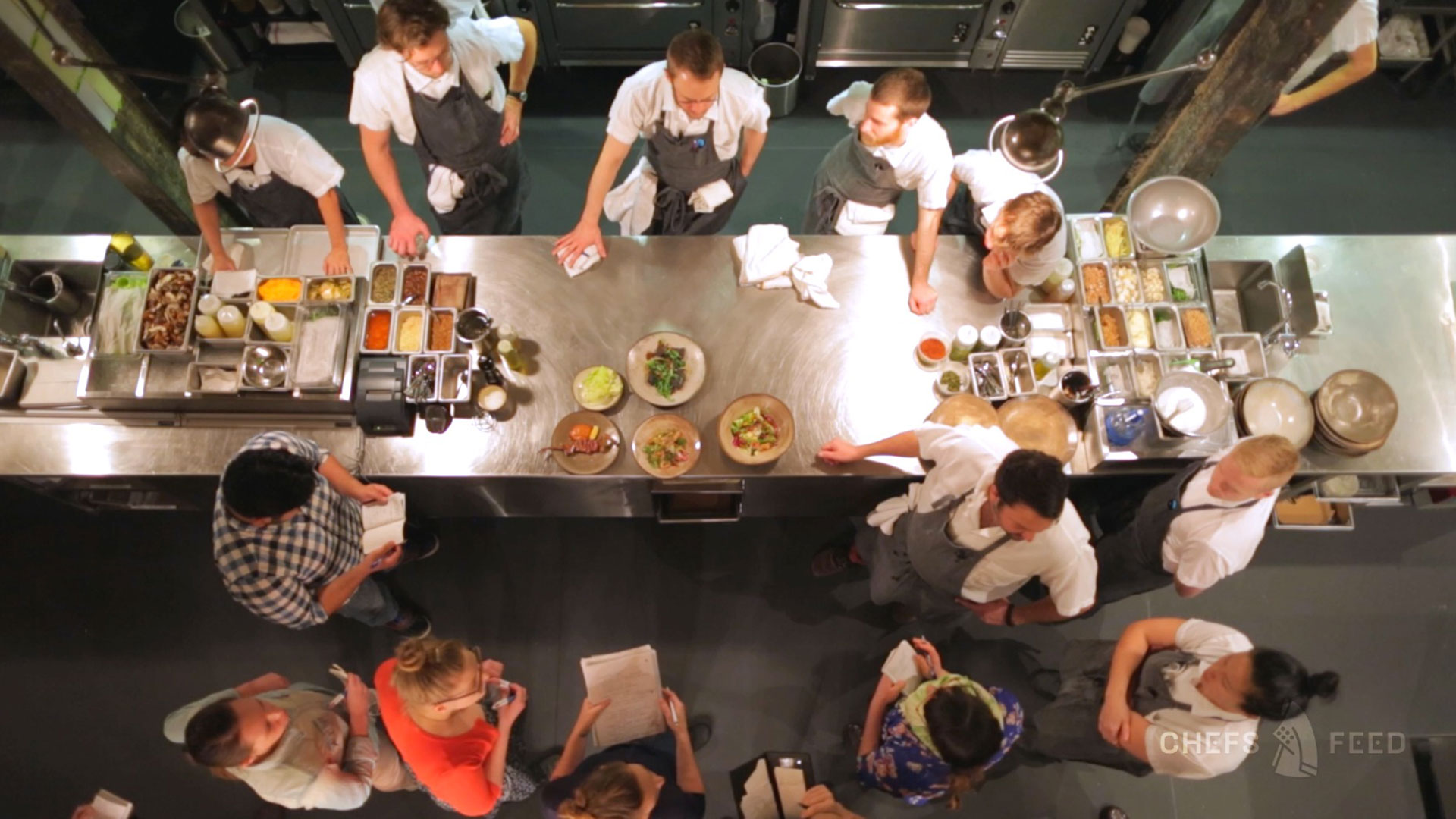 Chefs Feed: Opening Night at The Progress