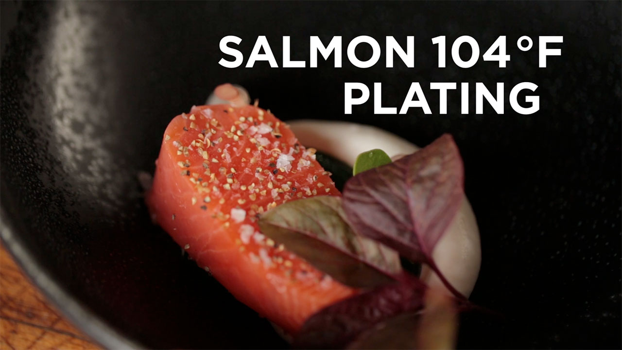 A Lesson in Fancy Salmon Plating