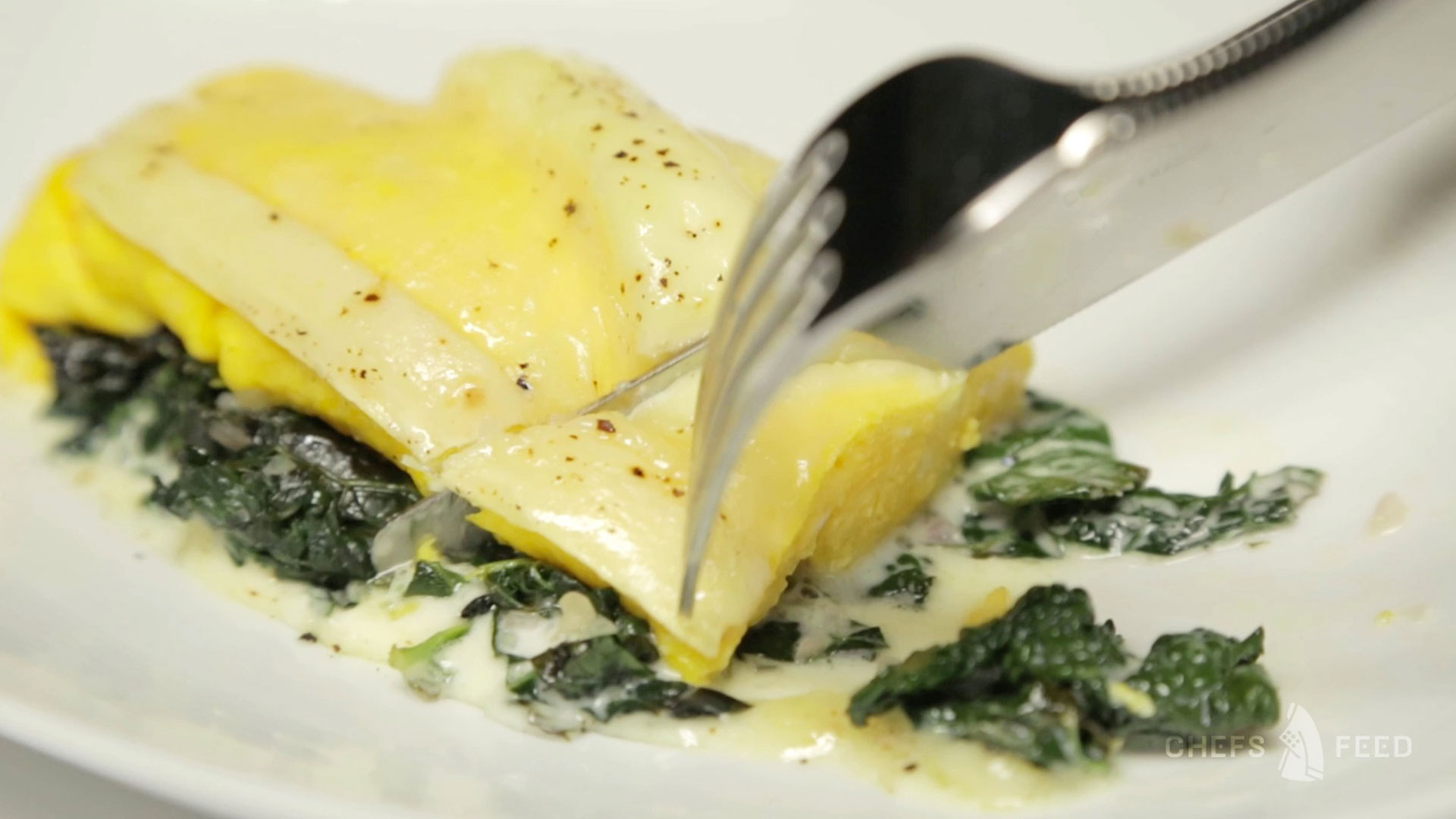 Chef Anthony Strong goes to Spruce for the Perfect Omelet