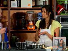 Tom Colicchio and Padma Lakshmi: Dipping Sauce