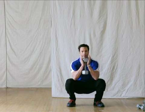 Rocco DiSpirito: Sumo Squat
