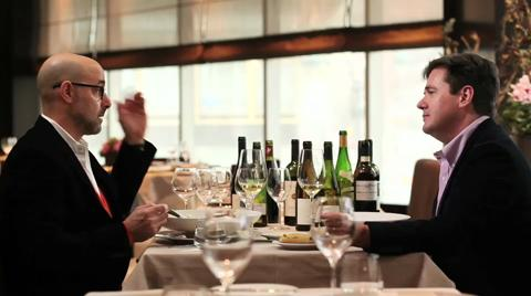 Ray Isle & Stanley Tucci: Best Wine Pairing Experience