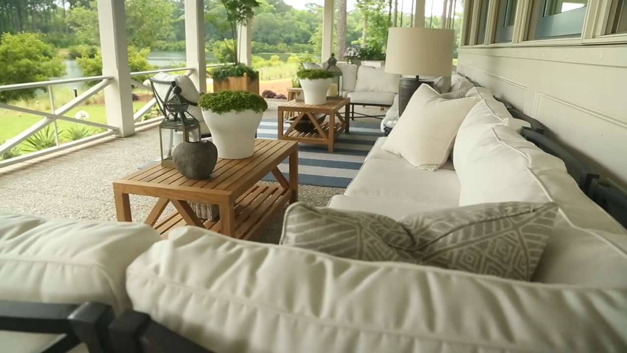 Outdoor Living on the Wraparound Porch