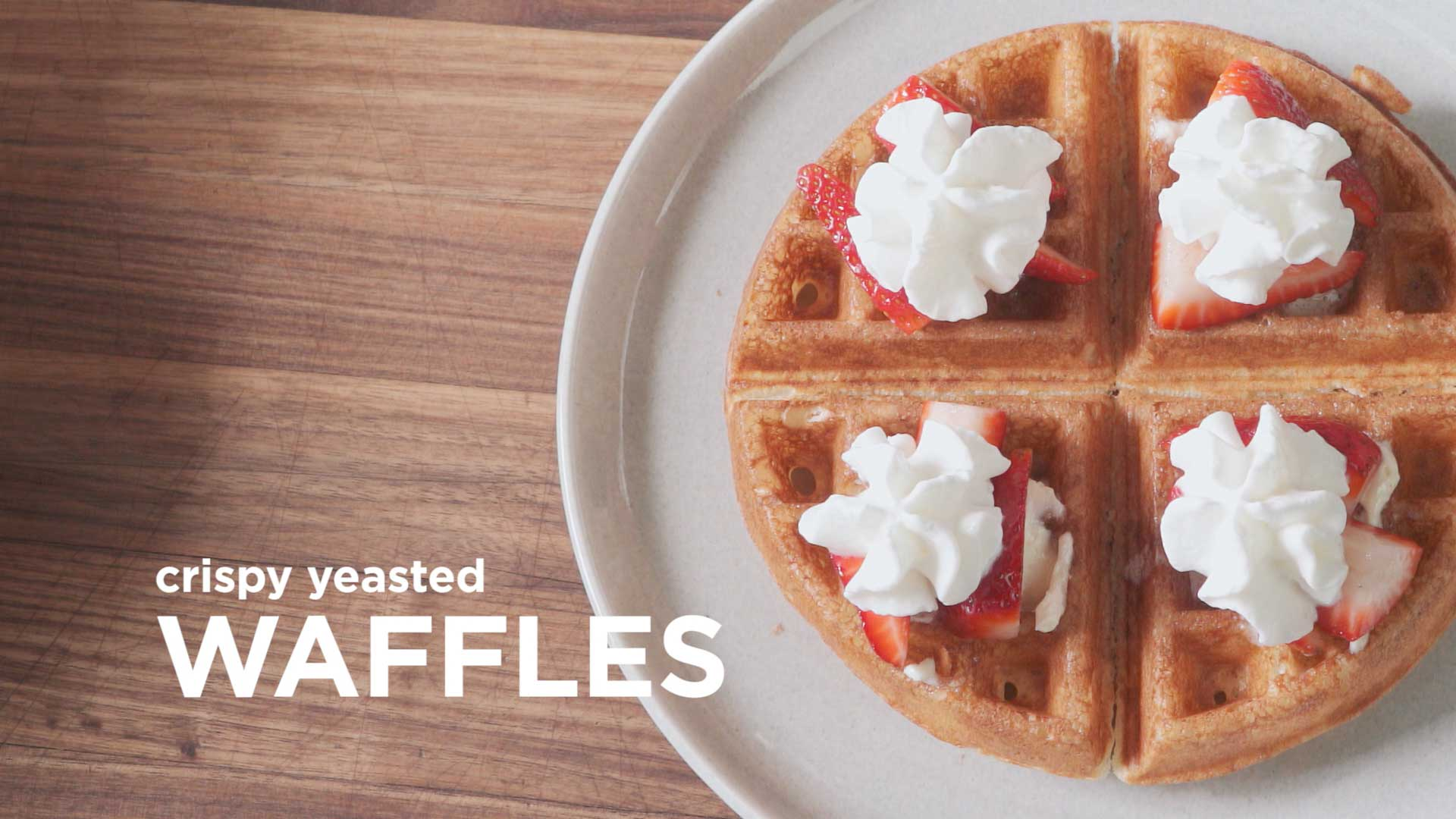 How to Make the Ultimate Waffles