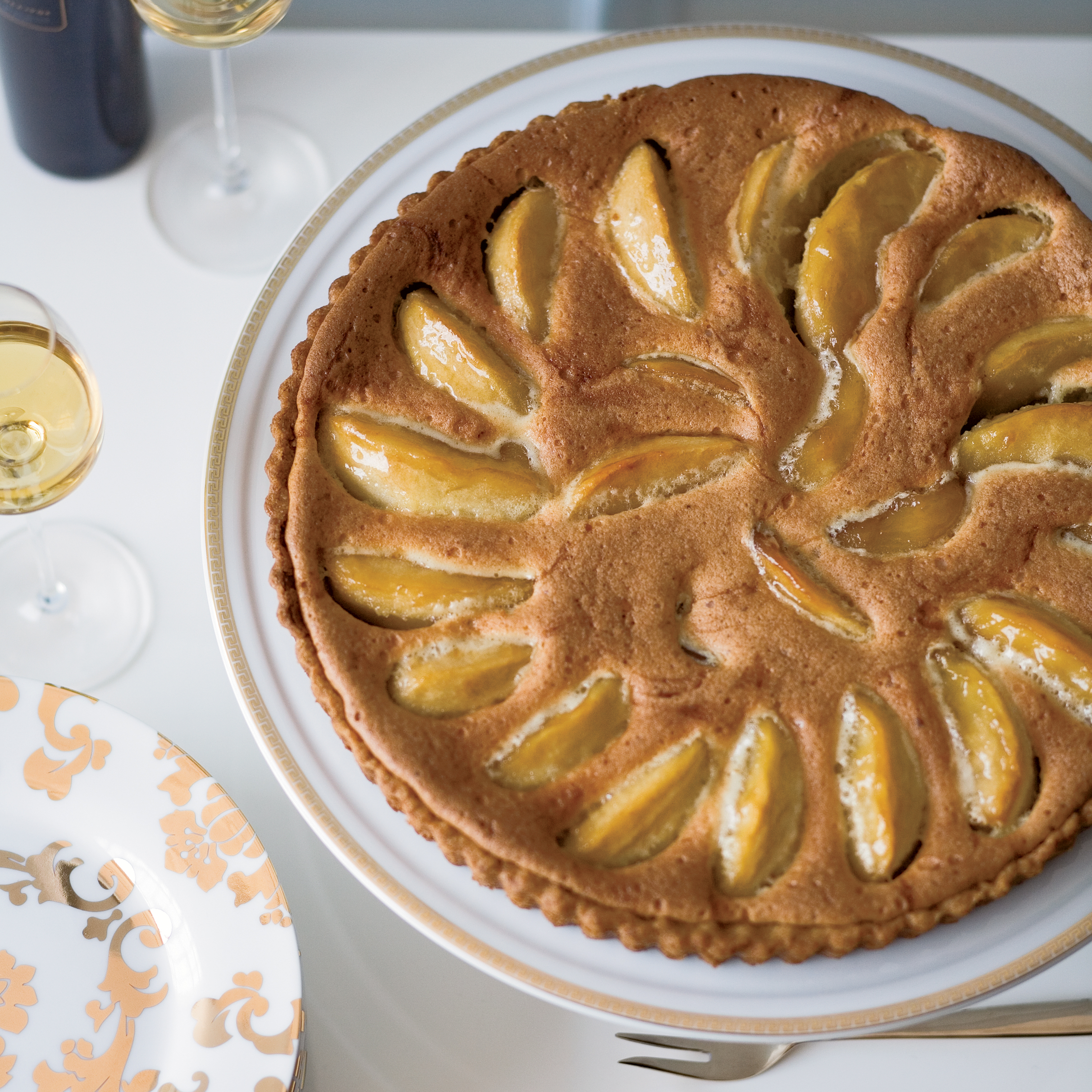 Granny Smith Apple and Brown Butter Custard Tart Recipe - Kate Neumann ...
